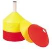Treninkový klobouček - set 48, 24 oranžový, 24 žlutý, výška 7 cm