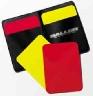 SALLER Rozhodcovské karty s pouzdrem